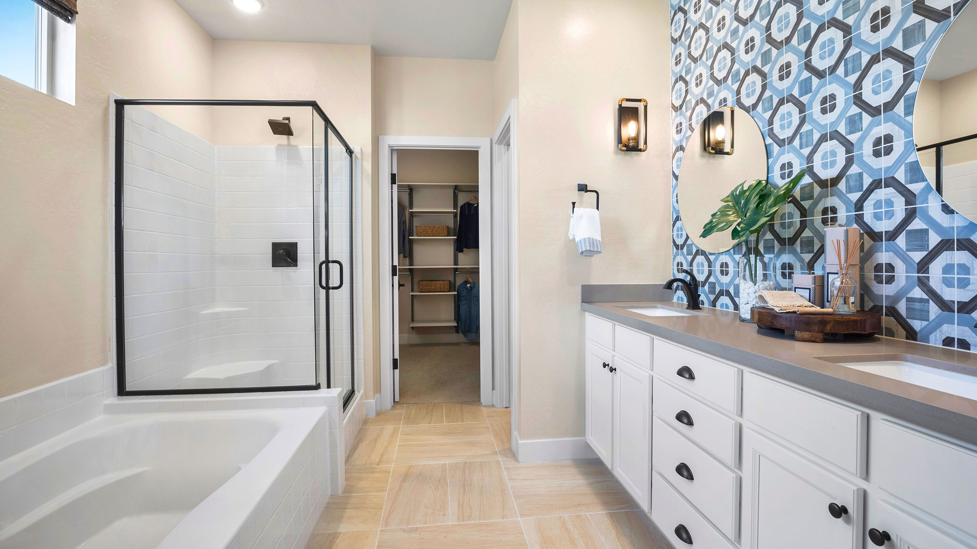 the bathroom in a Pardee Water Smart Home